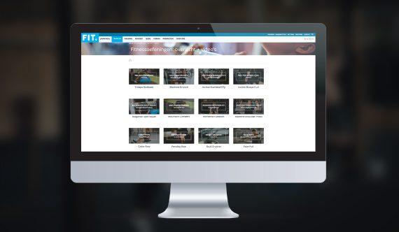 Oefeningenbibliotheek met video's