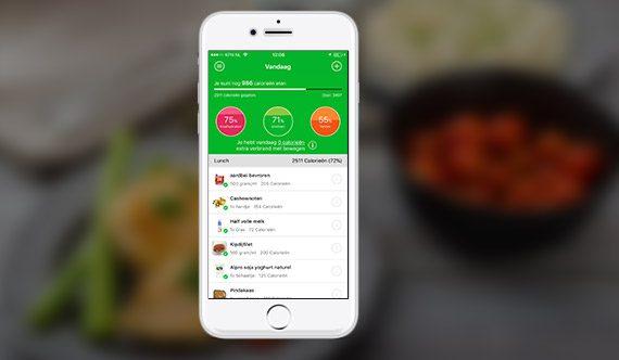Houd je voeding bij met de Food-app.