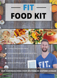 FIT Food Kit Voedingsplan