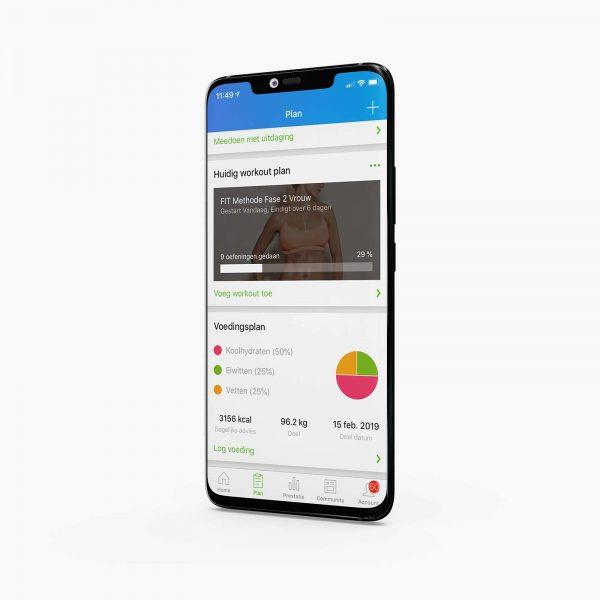 FIT Methode-app product