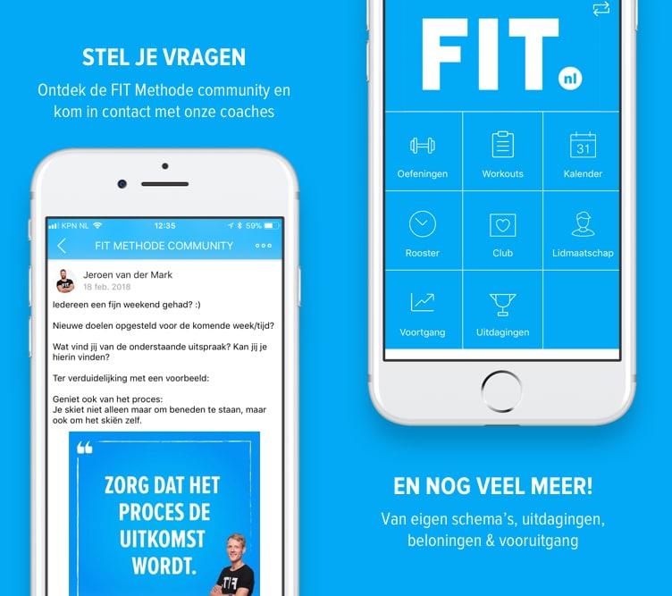 FIT-app functies