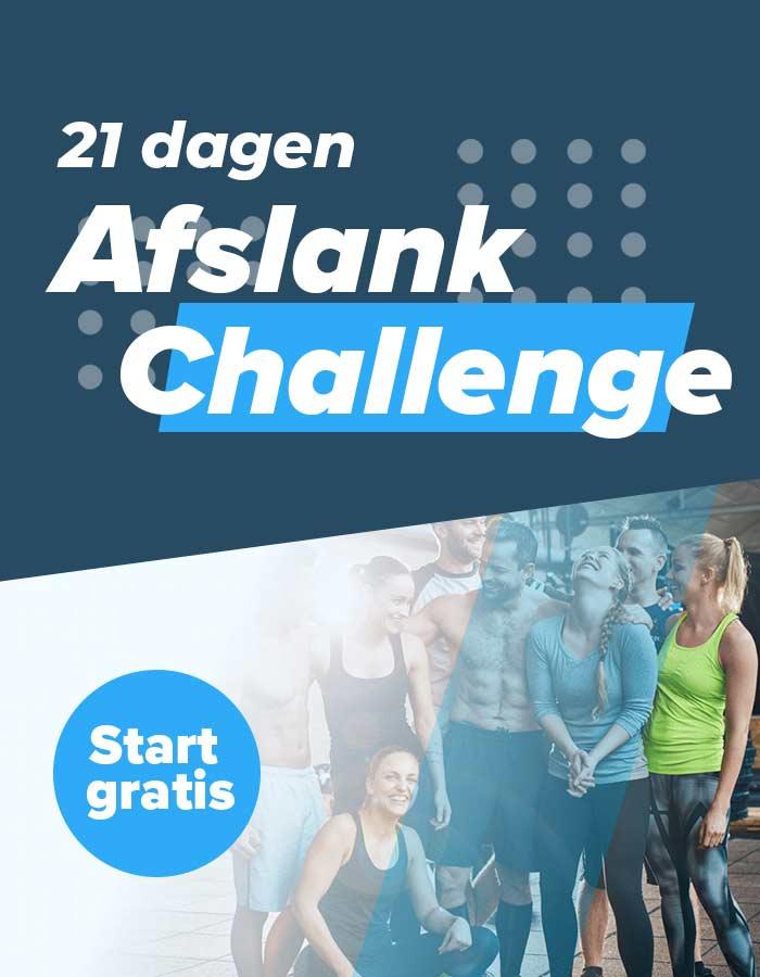 Afslank-challenge-banner