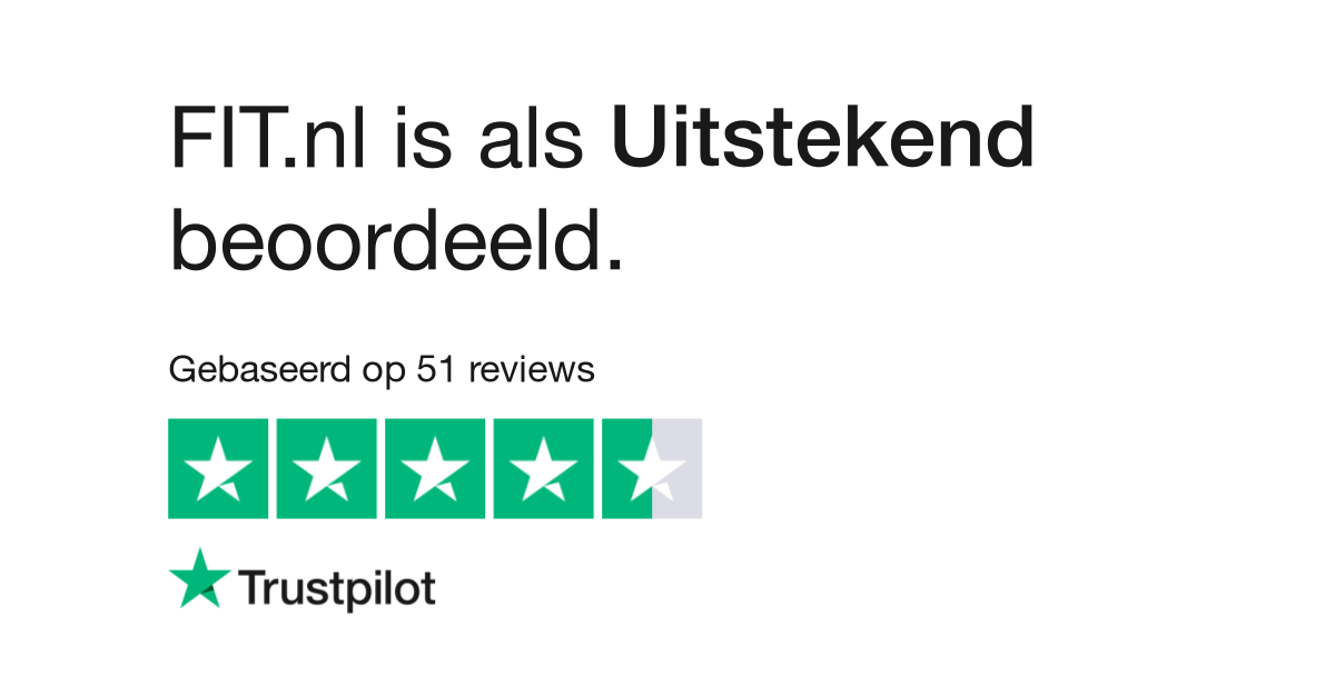 FIT.nl trustpilot