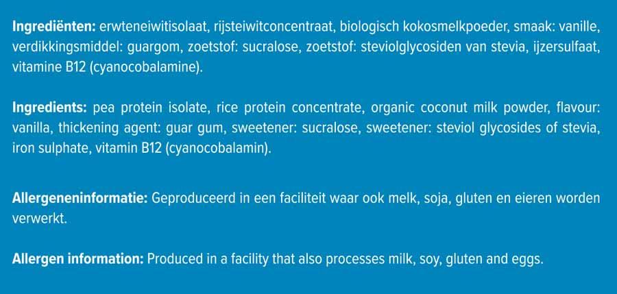 Vegan-protein-ingredienten